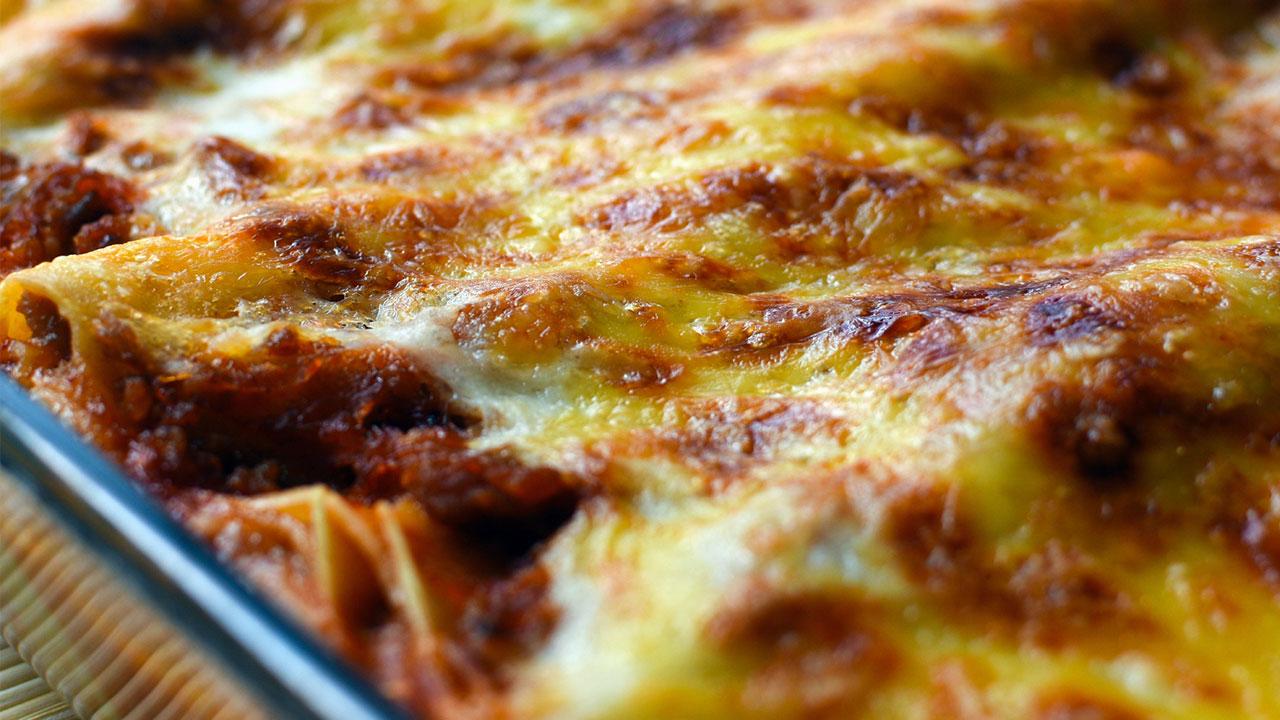 Lasagne er en høyt elsket matrett for tusener av nordmenn